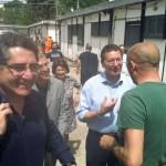 Salvatore Buzzi con Ignazio Marino