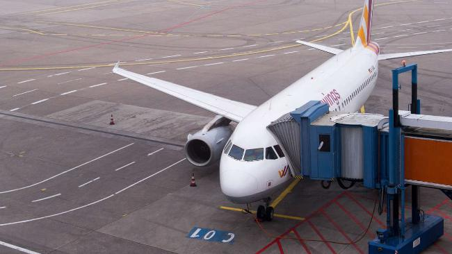 Airbus 320 Germanwings  in aeroporto allarme bomba