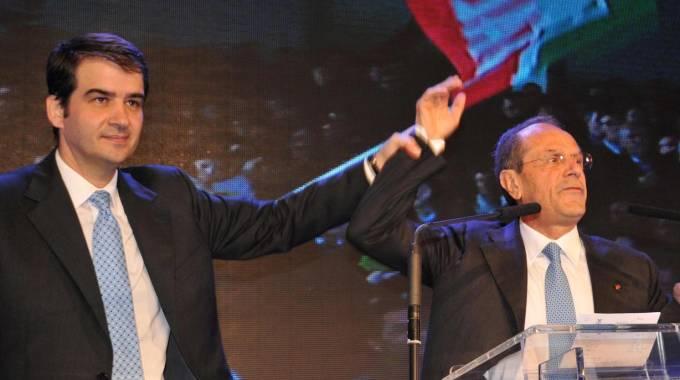 Raffaele Fitto e Francesco Schittulli | Elezioni regionali 2015
