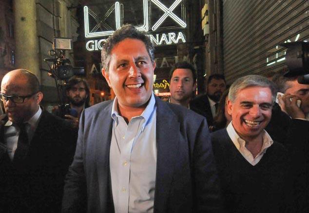 Genova ,Giovanni Toti (FI) eletto Presidente della Regione Liguria (Ansa)