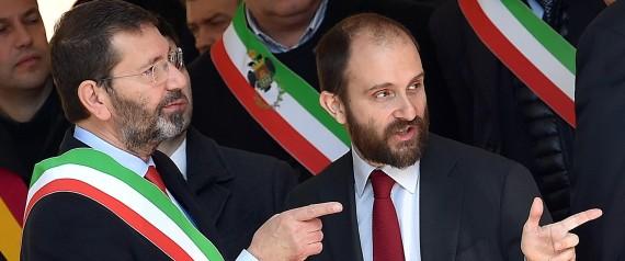 Ignazio Marino con Matteo Orfini