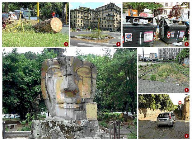 Il degrado di Roma Capitale documentato dal Corsera