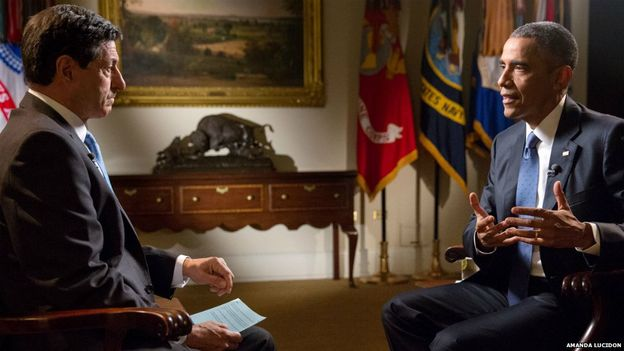 Jon Sopel intervista Barack Obama