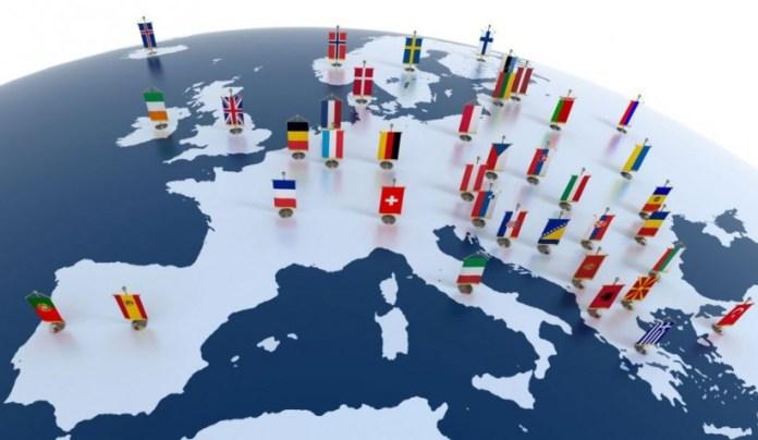 L'eurozona dell'Europa