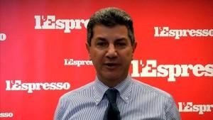 Il direttore del settimanale l'Espresso Luigi Vicinanza