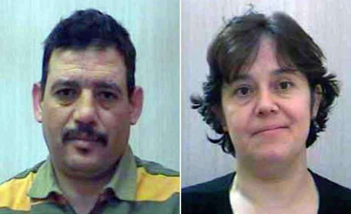 L'uxoricida Rahhal Fantasse e la vittima Anna Carlucci