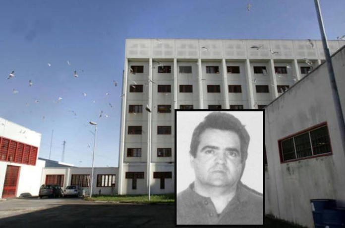 Il carcere di Padova nel riquadro Antonio Floris