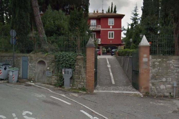 La villa di via Bellocchio, a Perugia dove è avvenuto l'omicidio di Raffaella Presta