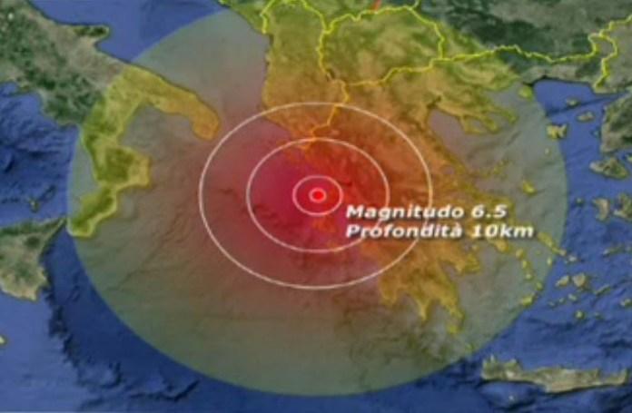 Terremoto a Lefkada Grecia 6.5 scala Richter. Morti e crolli. Paura in sud Italia