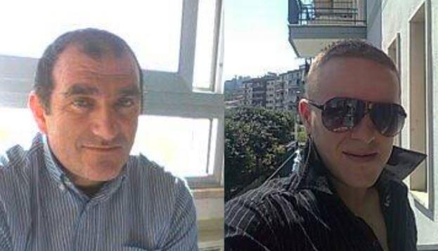 Da sinistra la vittima Carmine Avato, a destra Cristian Dulan