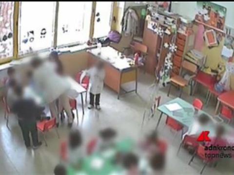 Pisa, botte all'asilo: arrestata una educatrice