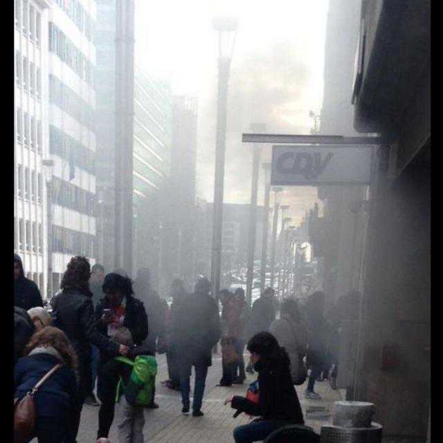 Attacco a Bruxelles - esplosione metropolitana di Maelbeek