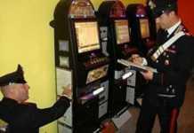carabinieri di Cosenza sequestrano slot machine