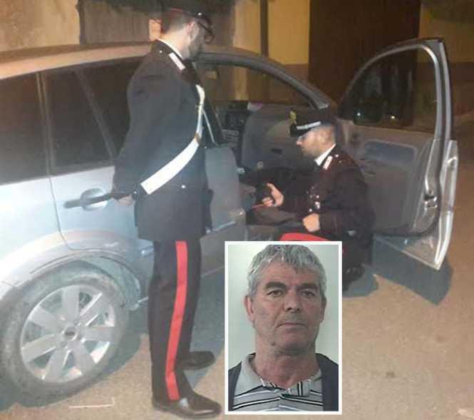 Minacce con un'arma clandestina, arrestato Giuseppe Salvati a Strongoli
