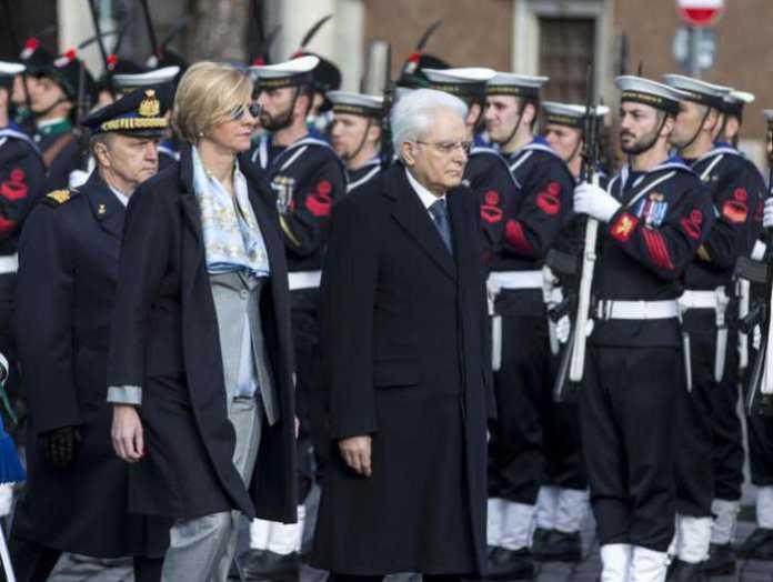 Festa della Liberazione, Mattarella all'Altare della Patria