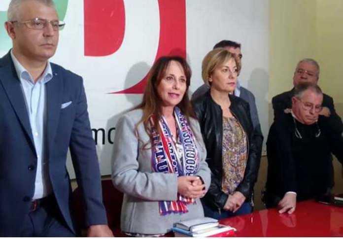 E' Rosanna Barbieri il candidato sindaco di Crotone del centrosinistra