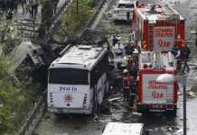 bomba Istanbul Turchia