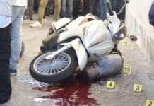 La scena del duplice omicidio a Napoli (Foto da ilmattino.it)