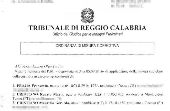 Tentata estorsione a Gaetano Cianci, l'inchiesta e le intercettazioni