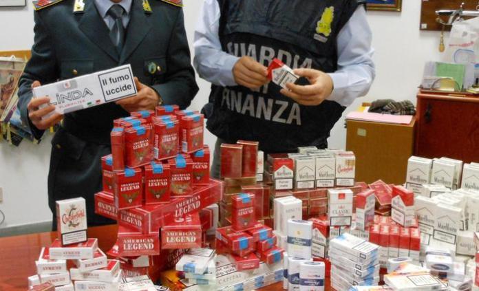 Contrabbando di sigarette a Teverola