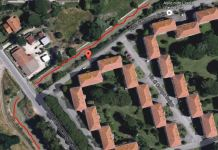 Il canale nei pressi di via di Campo Salino a Maccarese dove è annegato il bambino.