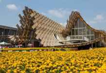 Il padiglione della Cina all'Expo 2015