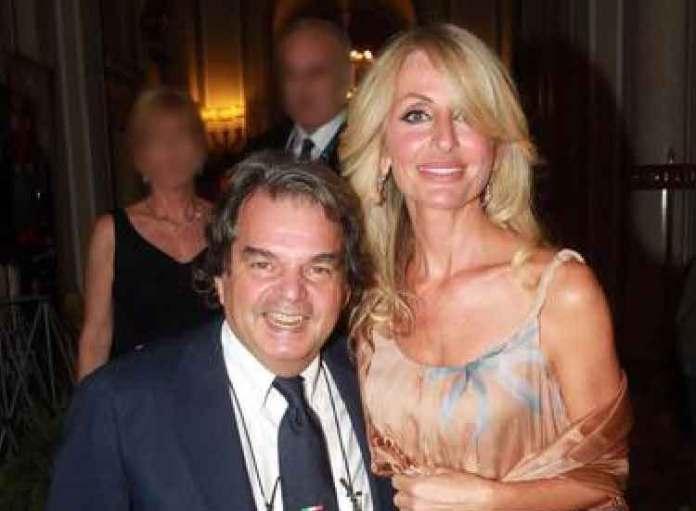 Renato Brunella con la moglie Tommasa Giovannoni Ottaviani
