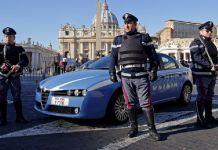 Controlli della Polizia in Piazza San Pietro