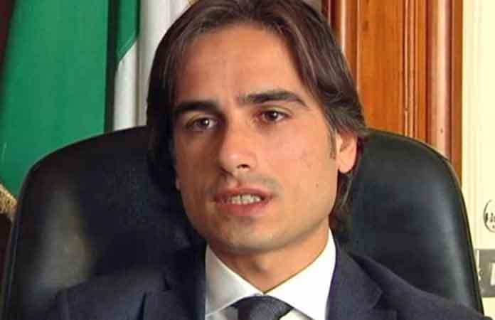 Il sindaco di Reggio Calabria Giuseppe Falcomata