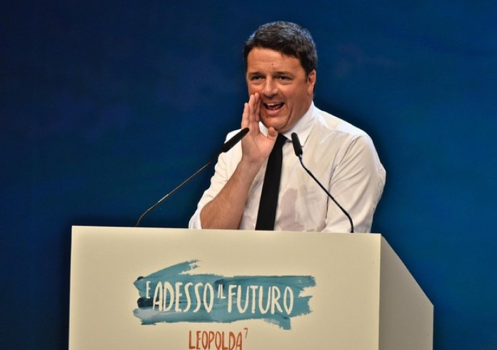 Matteo Renzi alla Leopolda