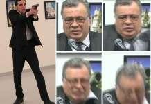 La drammatica sequenza dell'omicidio dell'ambasciatore russo Andrei Karlov