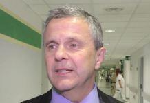 La vittima Stefano Tondi, aggredito da Daniele Albicini