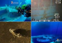 Sequenze del ritrovamento del peschereccio