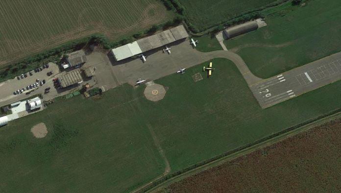 L'aeroporto di Migliaro a Cremona
