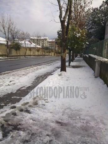 Neve a Cosenza 11 gen 2017