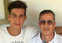 Salvatore Vincelli con il figlioSalvatore Vincelli con il figlio