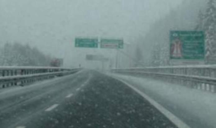 neve autostrada A3