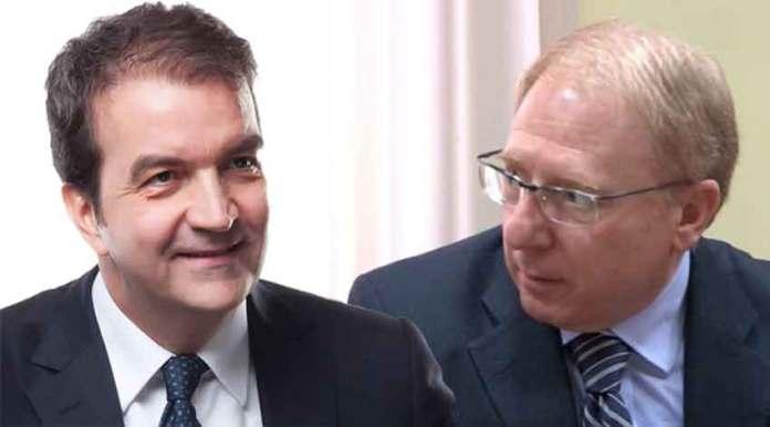 da sinistra il sindaco e il prefetto di Cosenza Occhiuto e Tomao