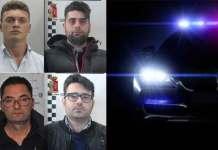 arrestati operazione trolley droga Calabria Messina