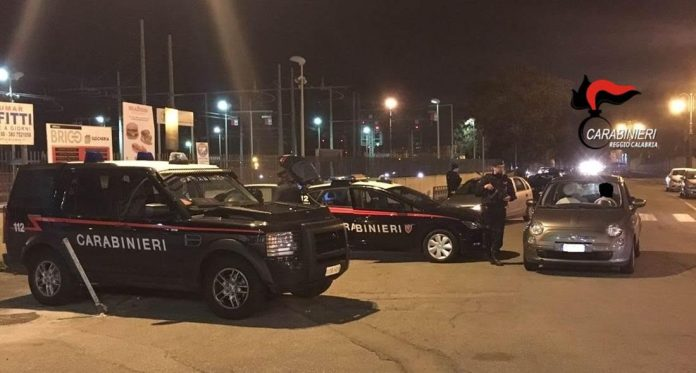 carabinieri controlli Reggio Calabria