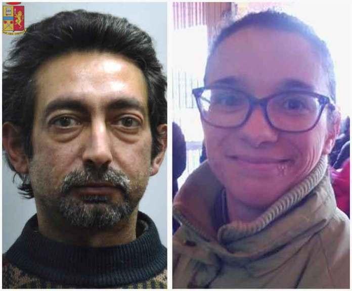 Gianni Murru e la vittima Federica Madau