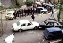 La strage di Via Fani il 16 marzo 1978