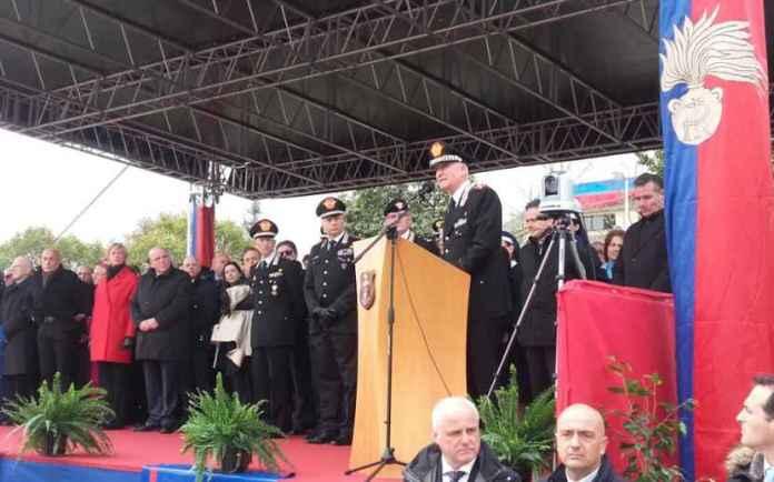 L'intervento del comandante generale dei Carabinieri Tullio Del Sette