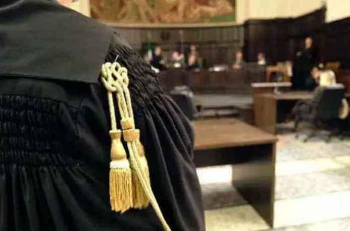aula giustizia processo