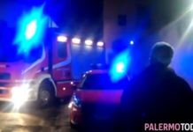 clochard bruciato Palermo