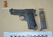 pistola armi munizioni polizia