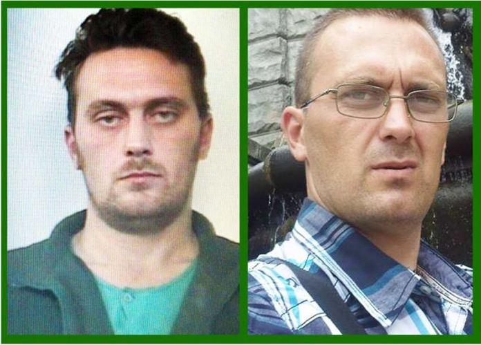 Da sinistra Igor Vaclavic, a destra Norbert Feher. Le due identità del killer