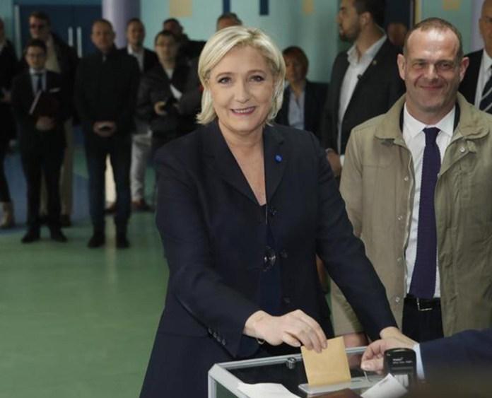 Marine Le Pen elezioni in Francia