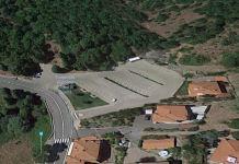 Piazza XXV aprile a Montecatini Val di Cecina dove è avvenuto il dramma