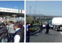 Porto: Gioia Tauro, lavoratori in sciopero